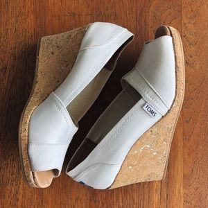 TOMS | Grosgain Wedges